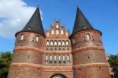 Lubeck - Holstentor — Stock Photo