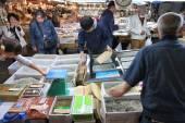 Tokyo seafood market — Stock Photo