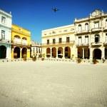 Havana - Plaza Vieja — Stock Photo #54286889