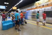 Rio metra — Zdjęcie stockowe
