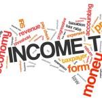 Income tax — Stock Photo #57158105