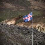 Iceland flag — Stock Photo #57380647