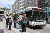 Providence city bus — Stock Photo