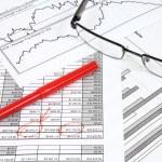 Finance analysis — Stock Photo #58781097
