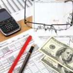 Financial analysis — Stock Photo #58781123