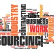 Outsourcing — Stock Photo #58961133