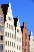 Lubeck architecture — Stock Photo