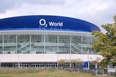 Arena de Berlim O2 World — Fotografia Stock