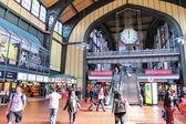 Hamburg station — Stock Photo