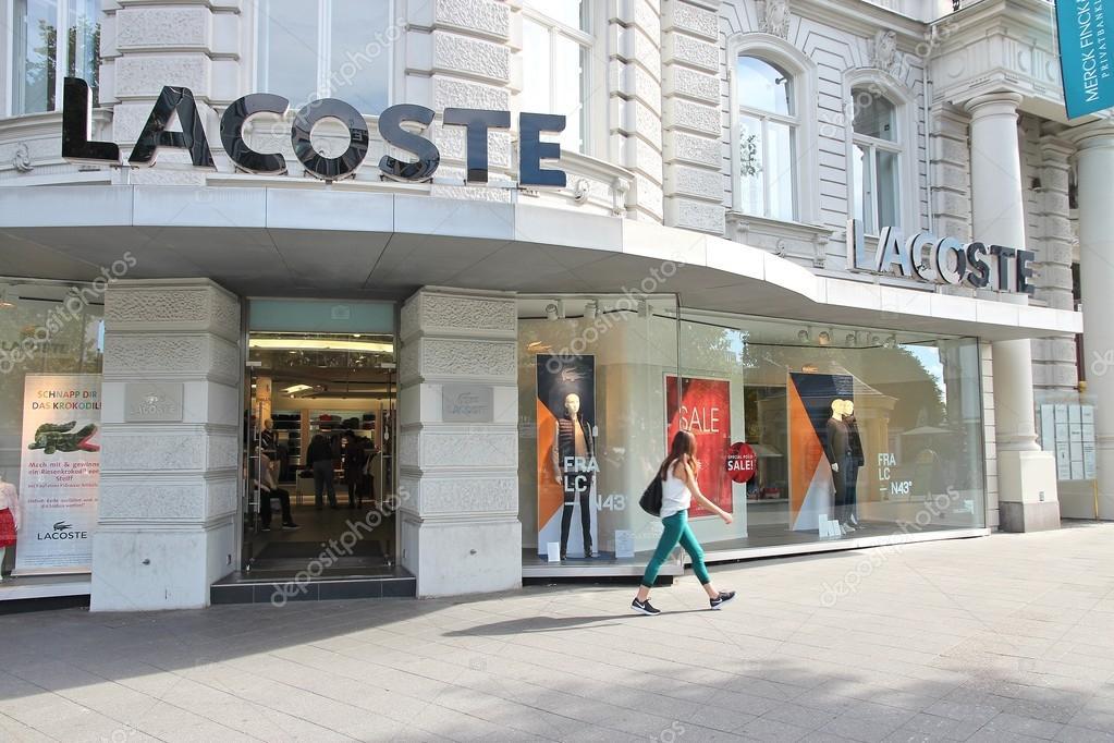 Berlin, Germany - Mai 30, 2014 Lacoste Store In Berlin