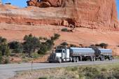 Truck in United States — Foto Stock