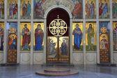 Church art in Serbia — Stock Photo