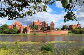 中世の城マルボルク — ストック写真