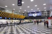 Аэропорт congonhas, Сан-Паулу — Стоковое фото