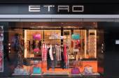 Etro fashion store — Stock Photo