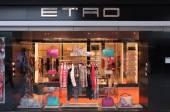 Etro fashion store — Stock Photo
