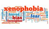 Xenophobia — Stock Photo