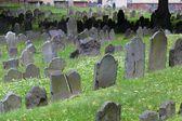 Boston Granary Burying Ground — Stock Photo