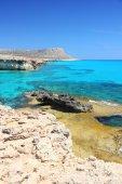 Cyprus coast — Stock Photo
