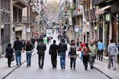 Carrer de Ferran, Barcelona — Stock Photo