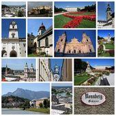 Salzburg collage — Stock Photo