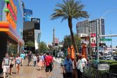 Las Vegas shopping — Stock Photo