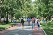 Penn State campus — Stock Photo