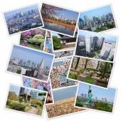 Tokyo collage — Stock Photo