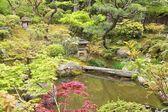 日本花园在奈良 — 图库照片