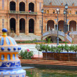 Seville - Plaza de Espana — Stock Photo #63667841