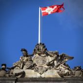 Denmark flag — Stock Photo