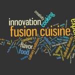 Fusion food — Stock Photo #63988993