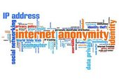 Internet anonymity — Stock Photo