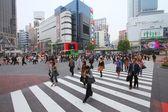 Shibuya crossing — Stock Photo