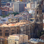Malaga Cathedral — Stock Photo #64832801
