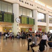 Malaga Airport — Stock Photo
