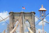 Ponte di brooklyn, ny — Foto Stock