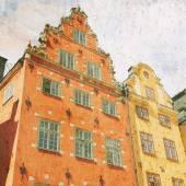 Stockholm retro — Stock Photo