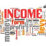 Income tax — Stock Photo #66389545