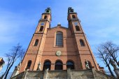 Piekary Slaskie basilica — Stock Photo