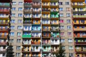 Block of flats in Poland — Stock Photo