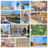 Sevilla collage — Fotografia Stock