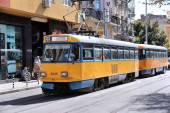 Tramwaje w Sofii — Zdjęcie stockowe