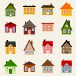 Vector house set — Stock Vector #69096927
