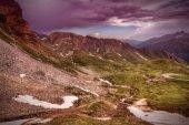 European Alps landscape — Stock Photo