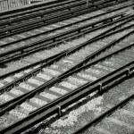 Railroad tracks — Stock Photo #69810545