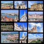 Budapest collage — Stock Photo #70394113