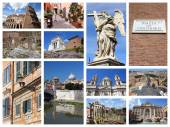 Rome postcard — Stock Photo