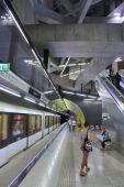 Budapest Metro — Stockfoto