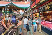 Budapest Market Hall — Stock Photo